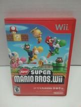 New Super Mario Bros. Wii (Nintendo Wii, 2009) Complete - $15.00