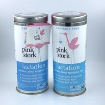2 Pink Stork Tea Nursing Lactation Herbal Tea / Promotes Milk Production... - $15.66