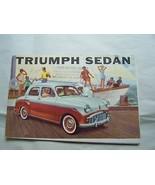 1952 Triumph Owners Sales Brochure Parts Service - $19.99