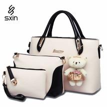 Designer Womens Handbag Messenger Bags set Ladiess Handbag Shoulder Bags... - $106.11