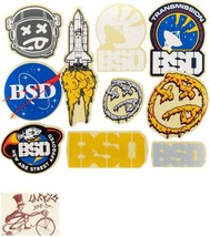BSD ASSORTED 10 STICKERS - $9.85