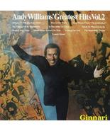 Andy Williams: Greatest Hits, Vol.2 [Vinyl] - $27.82