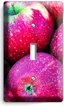 SWEET RED MACINTOSH APPLES LIGHT SWITCH 1 GANG WALL PLATE KITCHEN HOME A... - $10.99