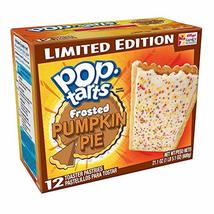 Kellogg's Frosted Pumpkin Pie Pop Tarts Limited Edition 12 Ct - Pack of 2 - $17.82