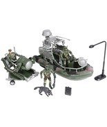 Kids Camouflage Military Force Amphibious Play Army Toy Set - $19.99