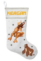 Tarzan Christmas Stocking - Personalized and Hand Made Tarzan Christmas ... - $29.99