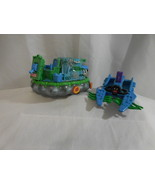 Mutant Ninja Turtles Toxic Crusaders Boat 1991 Troma Playmates 1989 Foot... - $48.01