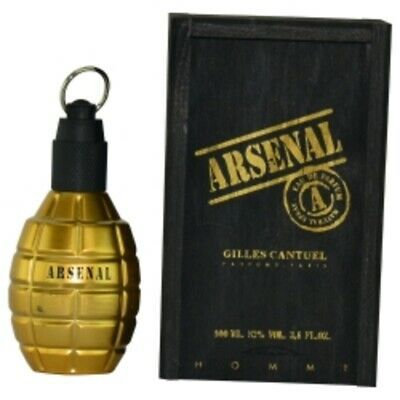 Primary image for New ARSENAL GOLD by Gilles Cantuel #258002 - Type: Fragrances for MEN