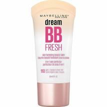Maybelline Dream Fresh BB Cream 110 Light / Medium 1Oz Skin Hydrating SP... - $12.59