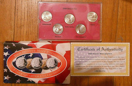 2000 Uncirculated State Quarter Denver Mint Set. - $3.50