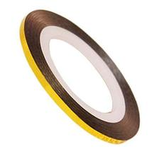 20 Rolls 2mm DIY Striping Tape Line Nail Art Decoration Sticker, Gold 2