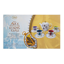 Disney Alice Through Looking Glass Limited Edition Fine China Tea Set New Box - $178.19
