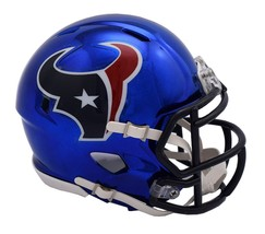 Houston Texans Helmet Riddell Replica Mini Speed Style Chrome Alternate**Free Sh - $29.99