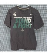 Nike Michigan State Spartans 2014 Rose Bowl T-Shirt Men's Small - $9.89