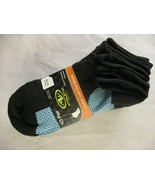 Athletic Works Women's Light No Show Socks 10 Pairs Shoe Sizes 4-10 polk... - $9.89