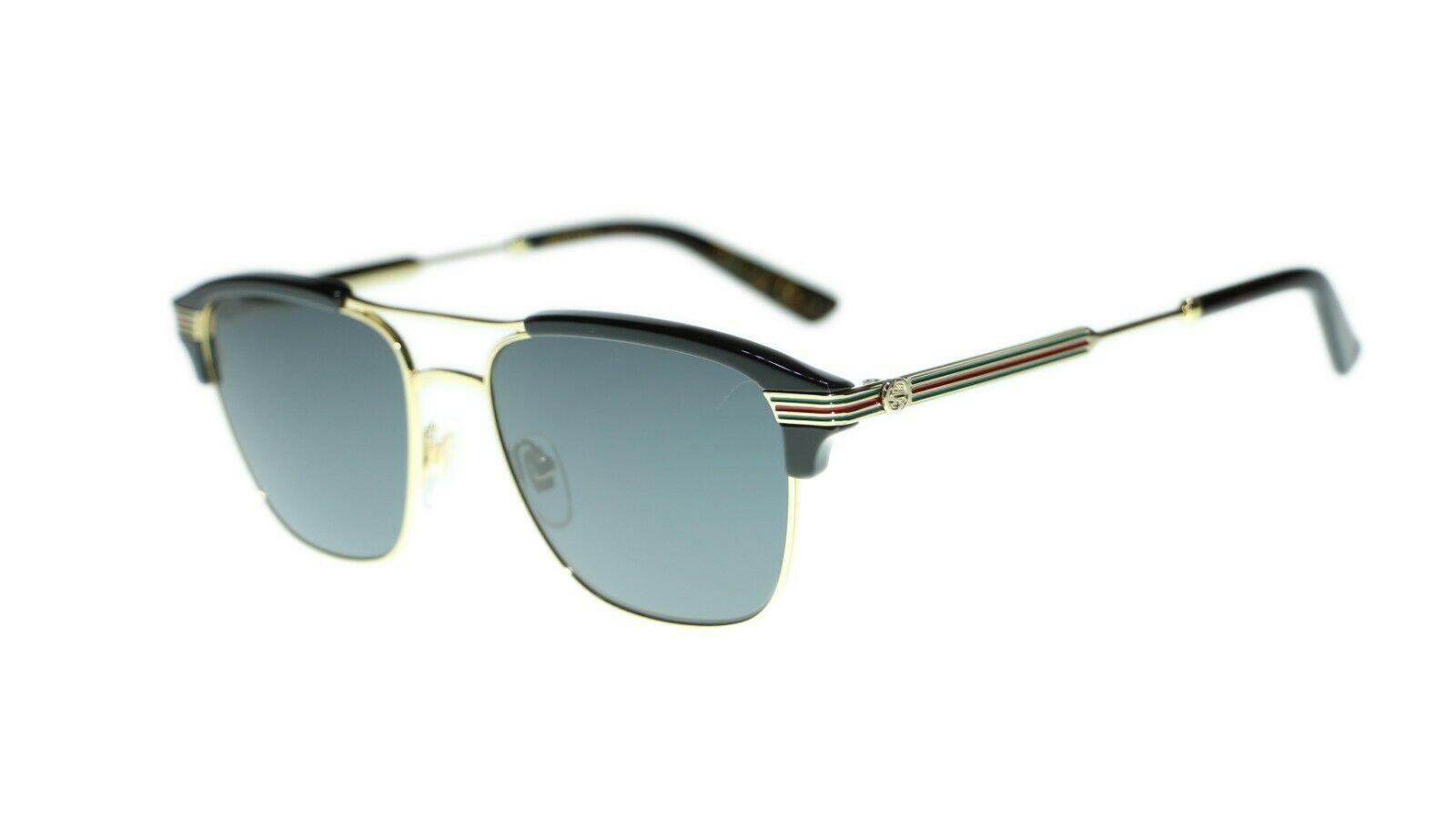 NEW Gucci Men's Sunglasses GG0241S 002 003 004 Square 54mm Authentic - $255.00