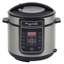 Megachef 6 Quart Digital Pressure Cooker with 14 Pre-set Multi Function ... - $93.92