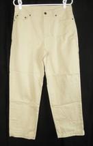 Ralph Lauren Beige 100% Cotton Pants Women's 8 (31 x 26) - $9.75