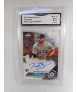 2016 Topps Chrome #TZ Tony Zych Auto Rookie GMA Graded Gem 10 - $9.85