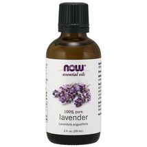 NOW FOODS 100% Pure Lavender Essential Oil 2 oz (59 ml), FRESH, MADE IN USA - $34.86