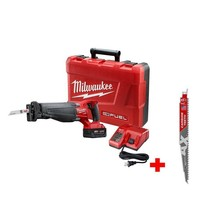 Cordless Reciprocating Saw Kit 18 Volt Lithium Ion Brushless w/ Carbide ... - $308.39