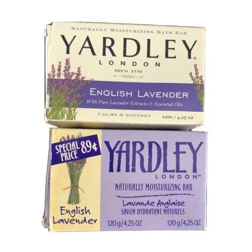 2 x Yardley English Lavender Soap Bar Moisturizing Bath 4.25 OZ - $9.89