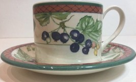 "Rare ""Autumn Grove"" By Johnson Brothers Cup & Saucer Set - $7.91"