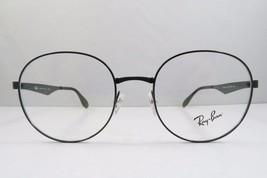 Ray-Ban RB 6343 2509 Round Shiny Black New Authentic Eyeglasses 47mm - 237 - $61.69