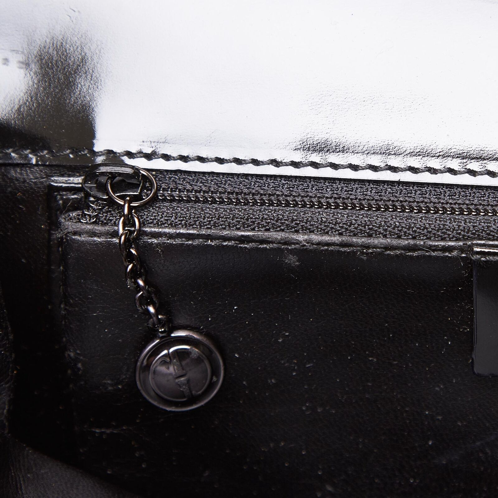 Authentic Gucci Black Fabric Shoulder Bag Italy