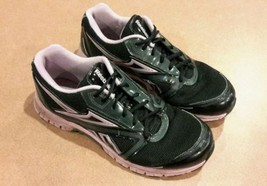 Womens Reebok Black Purple Running Shoes Size 9.5 - $20.00