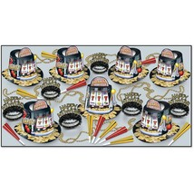 DD 1939218 Jackpot New Year Assorted Party Kit for 50 - $122.82