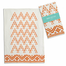 Set Of 4 Saffron Tea Towel Kitchen Dish Cloth - Bohemian Style Farmhouse... - $35.95