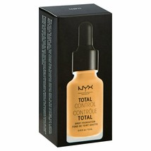 NYX Professional Total Control Drop Foundation TCDF11 BEIGE .43 fl Oz Br... - $8.79