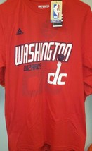 New Washington Wizards Logo Tee Adidas T Shirt Authentic Nwt - $21.99