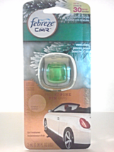 Febreze Car Vent Clip Air Freshener Limited Edition Frosted Pine Odor El... - $5.00