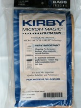 5 KIRBY VACUUM CLEANER BAGS G3 G4 G5 G6 ULTIMATE G G7 G7D MICRON MAGIC - $12.62