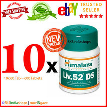 10x Himalaya Herbal Liv.52 DS 60 Tablets Liver Care EXPIRY SEP 2022 - $32.30