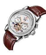 ORKINA Tourbillon Watches Men Automatic Self-winding Wrist Watch Genuine... - $52.57