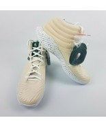 adidas Mens Mad Bounce PE Thon Maker Beige Green White Shoes EE6395 Size 15 - $99.95