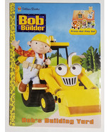 BOB THE BUILDER BOB'S BUILDING YARD PRESS-OUT PLAY SET BOOK GOLDEN BOOKS... - $12.61