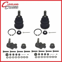 4 Pc Ball Joint Kit Front Left Driver Right Passenger Chevy Silverado 1500 2WD - $42.39