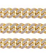 1 Kilo Oro Amarillo Macizo Miami Cubano Cadena de Eslabones 22mm 100 Qui... - £64,773.25 GBP