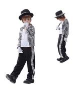 Kid Michael Jackson Thriller Fancy Cosplay Costume Halloween Partywear - $29.31