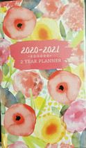 NEW 2020-2021 2-Year Pocket Planner Watercolors w - $5.99
