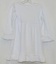 Blanks Boutique White Long Sleeve Empire Waist Ruffle Dress Size 18M image 2