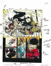 Original 1995 Daredevil 342 Marvel comic book color guide art page 29: Kingpin - $49.49