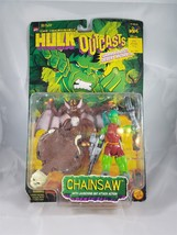 Toy Biz Marvel Incredible Hulk Outcasts Chainsaw w/ Launching Bat Attack... - $14.95