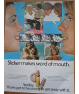 Vintage Yardley Slicker Lipstick Print Magazine Advertisement 1971 - $5.99