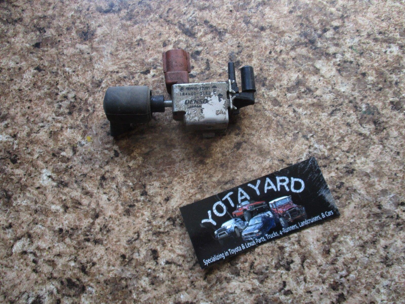 Toyota EGR Control Solenoid VSV Vacuum Switching Valve 90910-12074