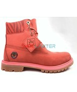 """Timberland Women 6""""Inch LIMITED EDITION Dark Pink Waterproof Double Boot... - $94.39"""